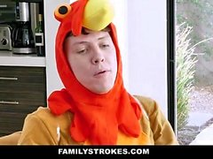 FamilyStrokes - Family Have a Thanksgiving Orgy
