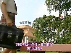 Asian model has hot public sex part4