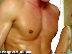 mischa brooks, ryan mclane, fantasymassage, duş, masaj