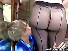 Mature Woman Creampied By A Young Cock
