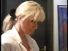 XXX&quot_Homemade&quot_ German video Hot mom takes son and his friendXXX