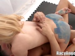 Cute Blonde Teen Lexi Belle Shows The Hardcore with Ben English and Alex Gonz