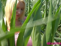 Beshine - Giant tits in a field