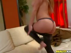 Latina doll deepthroated and doggystyled