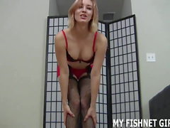 I know all about your little fetish for women in fishnets JO