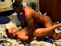 Interracial couple doggystyle fucking