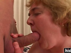 Mature chick knows what a guy wants