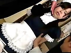 Japanese Teen Maid Loves Bondage