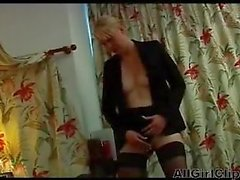 French Casting Ebony And Blonde Lesbians