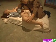 Gorgeous MILF Stripped By An Officer