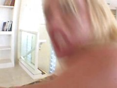 anal, gorges profondes, blonde facefuck, faux blonde, anal blonde