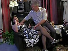 Russian Daddy and Daughter taboo family old youthful sex in nylons chicks angel porn threatening-menacing 12 min