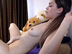 Horny girl super orgasm toys masturbation webcam chat
