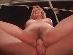 Slutty blonde gets fucked hard