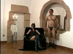 Fatty slut fucked by a muscled dude