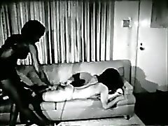 Black girls in 1960s spanking-bondage S&M fetish stag film