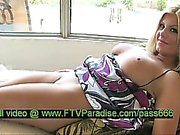 Virgin Remarkable Busty Blonde Showing Pussy