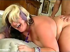 BBW Gets Her Tight Ass Filled By Huge Cock