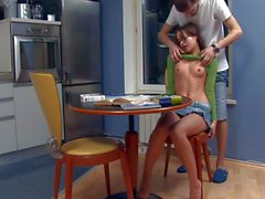 Teen Ivana gets doggystyled by her insatiable boyfriend