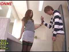 Tight Skirt Cram School Teacher Tuition Terutsuki Anri (1)