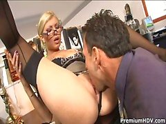 Office Slut Donna Bell Gets Ramm...