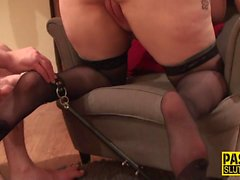 Real fat brit pounded