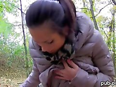 Real amateur Emily pounded for some cash