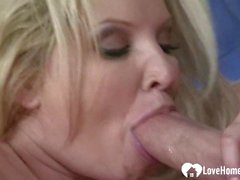 Irresistible blonde chick gets a rock-solid shaft