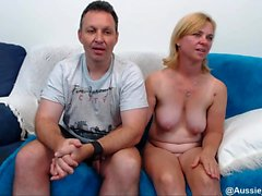 Hard fuck for mature blonde with big boobs