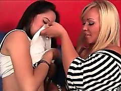 amateur, blond, brunette, hardcore, trio