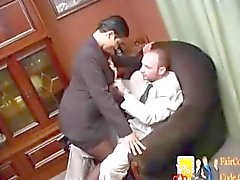 Naughty moroccan secretary with big boobs & big ass fucked hard doggystyle