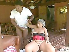 mamie, hardcore, interracial