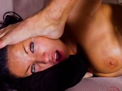 Big boobs pornstar rough sex with cum in mouth