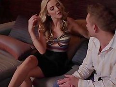 Natural blonde Karla Kush entertains a client - Tonight's Girlfriend