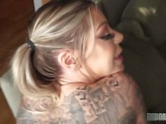 FULL VIDEO Of Karma Rx Taking Daddy's Dick For Being A Slut While Mom's Out