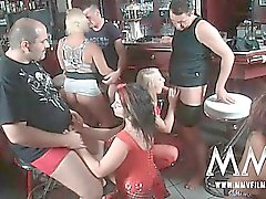 German amateurs love having a filthy orgy