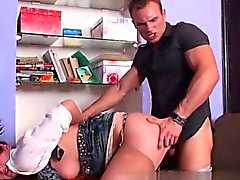 Hot secretary ass fuck