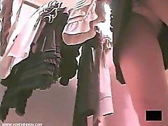Sexy Upskirt Panties Caught By Spycam