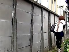 Heeled asians public piss