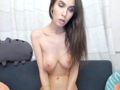 Petite Naked Brunette Naughty In Live Cam
