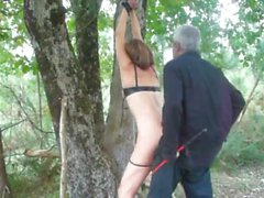 Julia punished into the forest