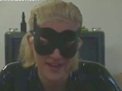 Sexy catwoman takes a hard cock