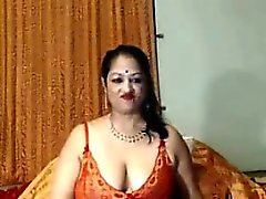 Dirty Indian Grandmother Shows Off