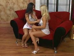 Smoking Blonde loves to fuck her Friend