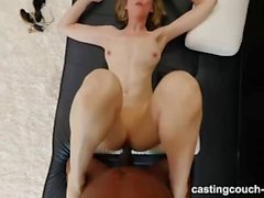 48 Year Old MILF Fucks Younger Black Guy During Casting Interview