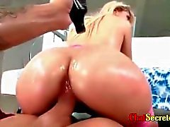 Anal and oil well assed blonde with Mexican features rich intense sex