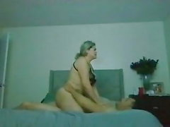 Big butt Mexican wife knows how to fuck her man