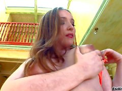 Horny Amateur Laura enjoys in playing solo