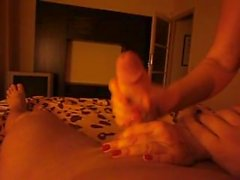 happyclips4you, handjob, abspritzgarantie, ruck, rucken