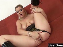 anal, gros seins, blond, pipe, hardcore